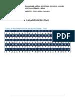 TJRJ - Técnico - Gabarito Definitivo