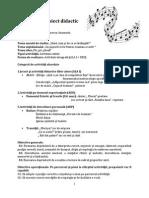 Proiect didactic DEC