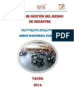 Plandegestionderiesgosdedesastres-I.E. JORGE MARTORELL 2014