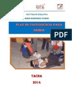 Plan Contingencia I.E. JORGE MARTORELL 2014