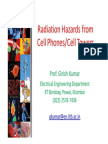 1 Girish Kumar Cell Tower Radiation Hazards 12 May 2011