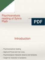 Psychoanalysis Reading of Sylvia Plath