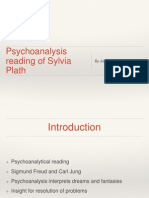 Psychoanalysis Reading of Sylvia Plath