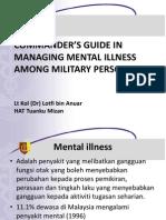 Managing Mental Illness