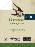 Peregrine Outdoor Products 2015 Retail Catalog