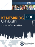 Kentsbridge University Brochure