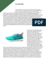 Nike Free 3.0 Femme Noir KO4