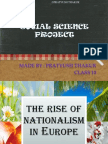 SST Project on Rise of Nationalism in europe by Pratyush Thakur