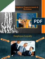 Revised Employee Empowerment & Retention
