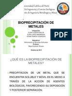 Bioprecipitación de Metales (1)