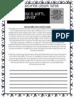 New Testament Study Guide Gospel Doctrine #3