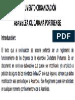 Documento Organizativo ACP Aprobado