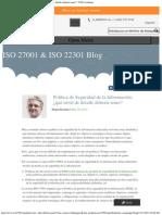 Política de Seguridad de La Información_ ¿Qué Nivel de Detalle Debería Tener_ _ 27001Academy