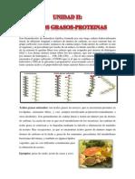 Acidos Grasos y Proteinas