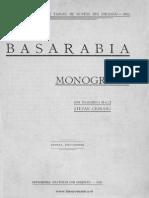 Basarabia Monografie Chisinau 1926 - Ciobanu Stefan