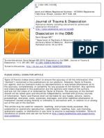 DISSOCIATION IN THE DSM V