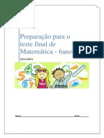 Exame Final de Matemática Do 6ºano