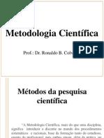 Apresentação Metodologia Científica