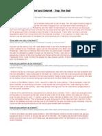 trap the ball survey pdf