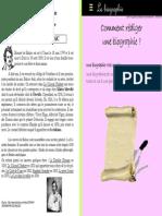 Redaction Biographie