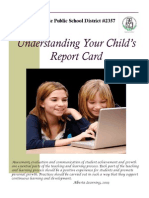 understanding your childs report card