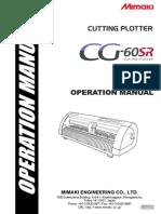 CG 60SR OperationManual