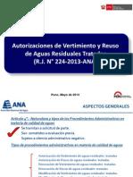 RJ 224-2013-ANA_Rglto Vertimiento y Reuso San Carlos