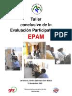 Taller Evaluacion Participativa EPAM[1]