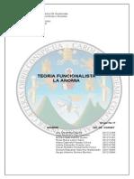 TEORIA FUNCIONALISTA LA ANOMIA