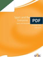 SPARC Strategic Plan 2009 2015