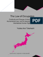 The Law of Occupation Continuity and Change of International Humanitarian Law, And Its Interaction With International Human Rights Law