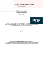 Iswolsky - La Tragique Epopee de Komsomolsk