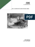 Antecedentes de la caida de Allende