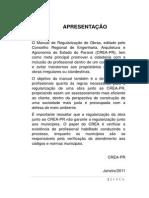 Crea - Manual de Regularização de Obras