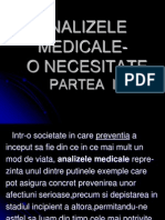 CURS 9 - Analize Medicale I