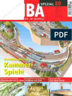 MIBA Spezial 80 Modellbahnplanung Kammler-Spiele