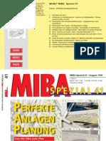 Miba Spezial 41 Perfekte Anlagenplanung - Hintergrund