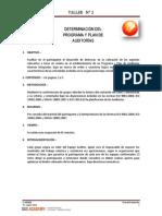 C-AIHSEQ Taller 2 Programa Plan de Auditorías