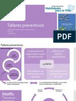 Talleres Preventivos HPV Orientaciones tecnicas