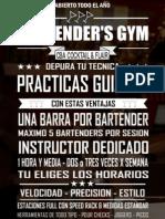 Bartender's Gym CBA Cocktail & Flair Feb 2015