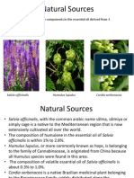 Natural Sources and Historical Uses