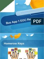 bus app1 eoc review
