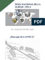 Subsistema Nacional de La Calidad - Snca
