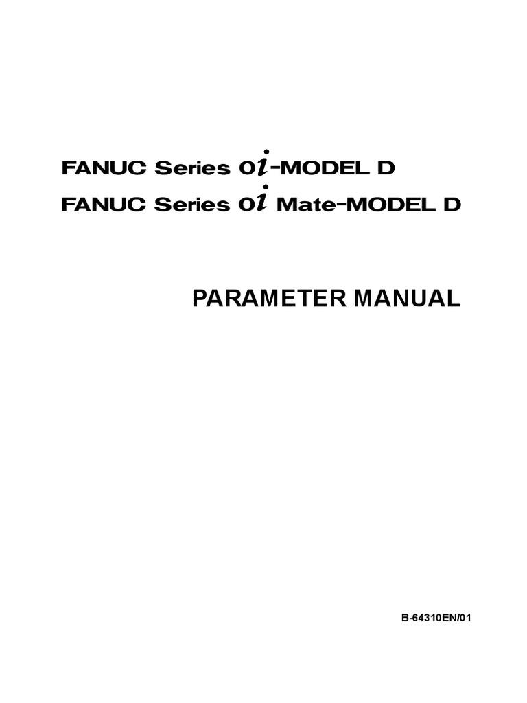 B-64310EN 01 Parameter Manual | Parameter (Computer Programming