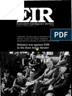 BellingtonBellington - Britain's War Against FDR in the East Asian Theater (EIR, 1999) - Britain's War Against FDR in the East Asian Theater (EIR, 1999)