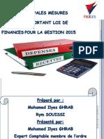 Les Principales Mesures Fiscales Portant Loi de Finances 2015 (1)