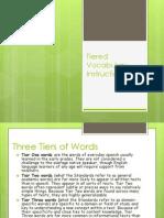 tiered vocabulary instruction  trexler1