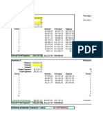 Mortgage Annuity Table