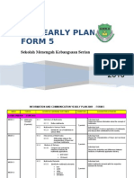 ICT Form 5_Yearly Plan 2010