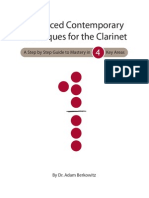 Advanced Contemporary Techniques for Clarinet